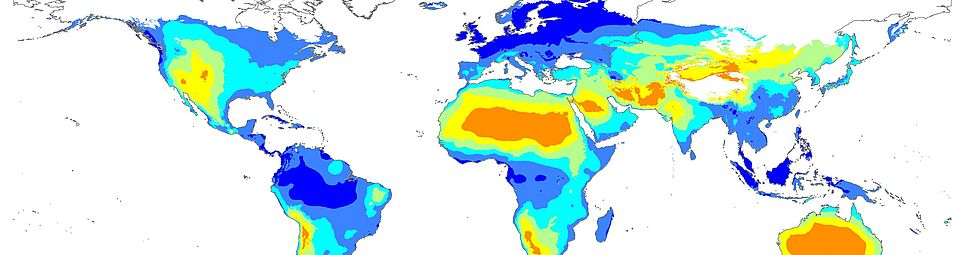 world map stable isotopes